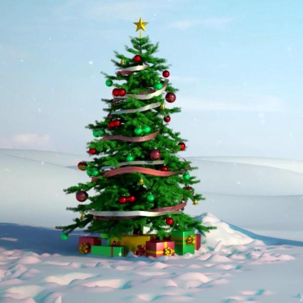 Скачать новогодние видео поздравление