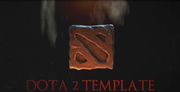 dota 2 intro template