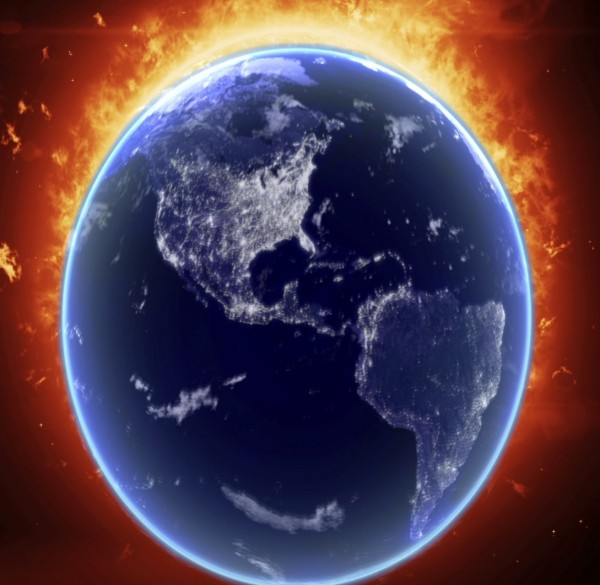 Интро солнце и земля #170
