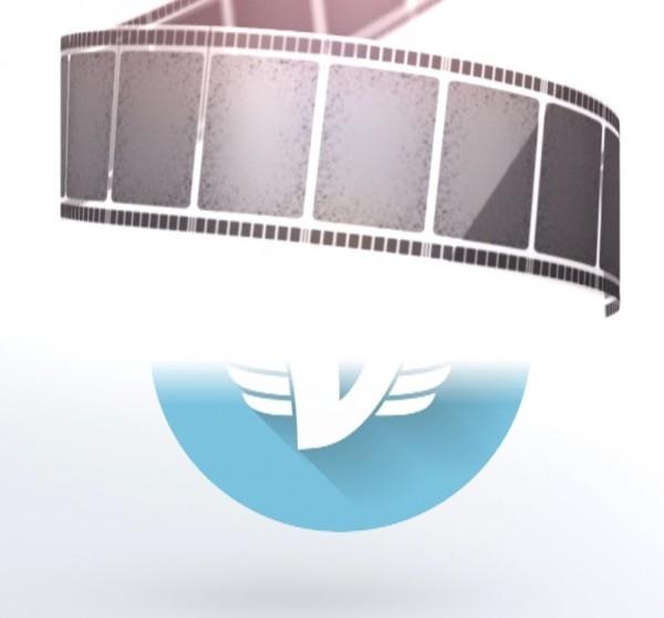 Интро кинопленка #250