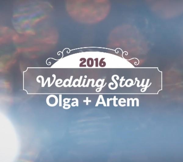 Динамические свадебные заставки для видео #277