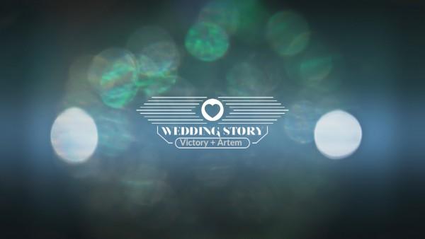 Уникальная заставка свадебного фильма