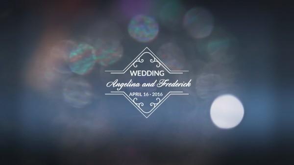 Заставка свадебного фильма