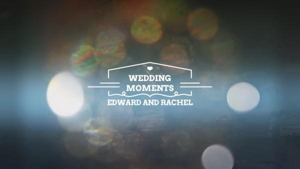 Заставка для свадебного фильма