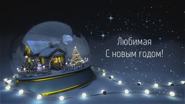 Пример Новогоднее именное видео поздравление